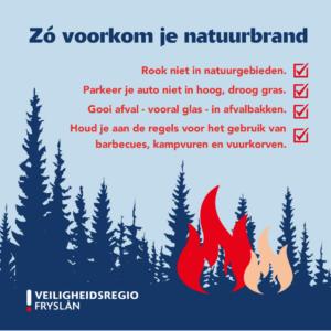 Zo voorkom je een natuurbrand