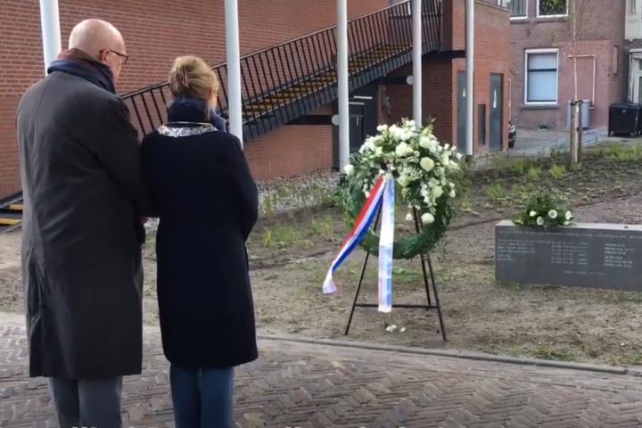 Herdenken van de oorlogsslachtoffers 4 mei